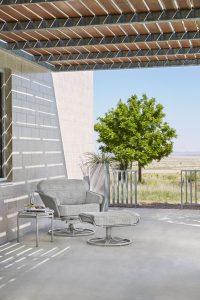 verge lounge chair & ottoman