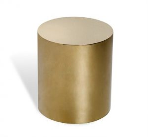 Aubrey Cylinder in Brass