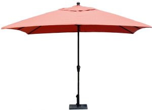 10 SQ Umbrella with collar tilt