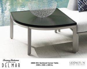 Del Mar Sectional Corner Table