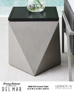 Del Mar Accent Table
